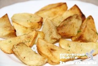 Картофельные ломтики по-крестьянски