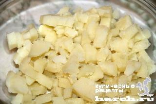 Картофельный салат с тунцом по-американски