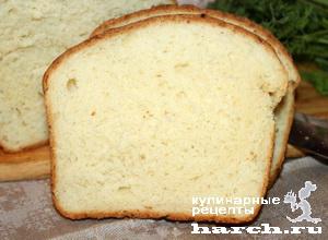 Картофельно-молочный хлеб