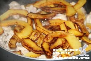 kurica s kabachkami v slivochnom souse 3 Курица с кабачками в сливочном соусе