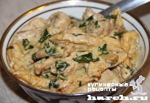 kurica s kabachkami v slivochnom souse 7 Курица с кабачками в сливочном соусе