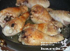 Курица с подливкой по-неаполитански