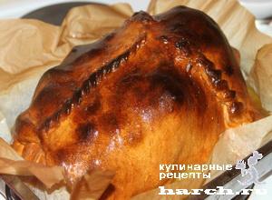 Курица в печи
