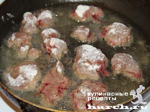 kurinaya pechen s fasolu i ovoghami v tomatnom souse 03 Куриная печень с фасолью и овощами в томатном соусе
