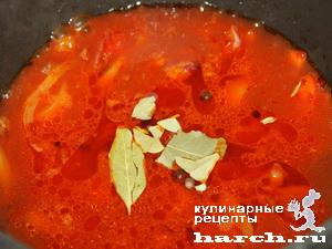 kurinaya pechen s fasolu i ovoghami v tomatnom souse 07 Куриная печень с фасолью и овощами в томатном соусе
