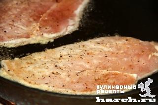 kurinie otbivnie s sirom 06 Куриные отбивные с сыром
