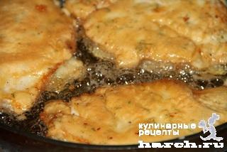 kurinie otbivnie s sirom 09 Куриные отбивные с сыром