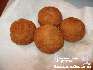 Куриные пончики с сыром