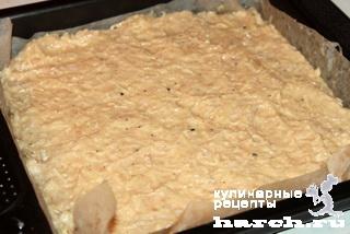 Куриный пирог с шампиньонами