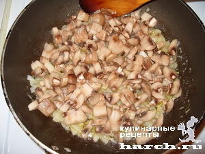 """Куриное филе с грибами под сыром """"Преображенское"""""""