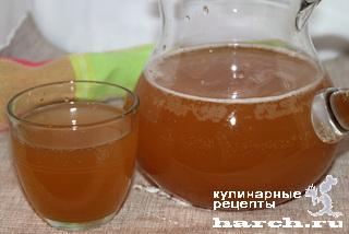 Квас на яблочном соке