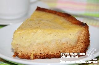Лимонный пирог с манго