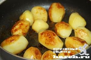 Медовый картофель