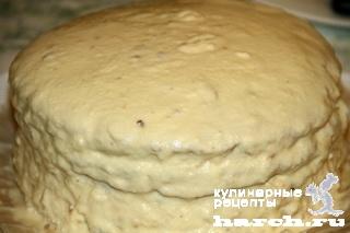 Медовый торт с творожным кремом