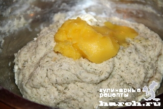 Молочный хлеб с укропом