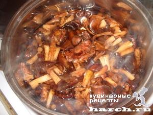 opyata marinovanie v tomatnom souse 01 Опята, маринованные в томатном соусе