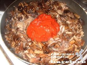 opyata marinovanie v tomatnom souse 06 Опята, маринованные в томатном соусе