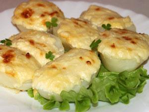 картошка под майонезом с сыром в духовке