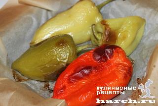 Перцы с брынзой в сухарях по-болгарски