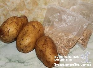 Перловка с картошкой