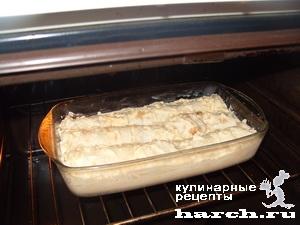 Пирог из лаваша с мясным фаршем