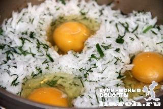 Плов с курицей и укропом по-азербайджански