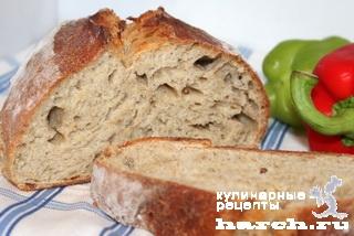 Праздничный заварной хлеб по-литовски