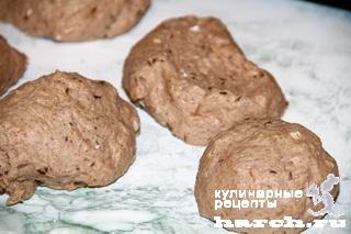 Пшенично-ржаные булочки с тмином
