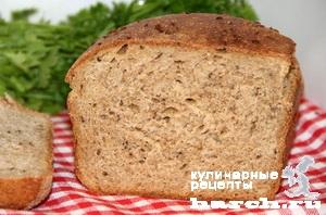 Пшенично-ржаной хлеб на квасном сусле