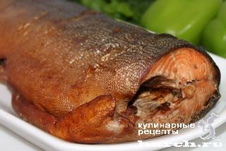 Рыба горячего копчения в рукаве для запекания