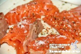 Рыба, тушеная с молодой капустой по-венгерски