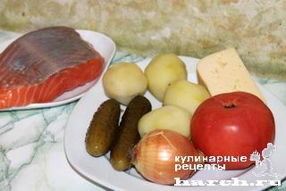 Рыба, запеченная под сыром по-житомирски