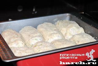 """Рыбные котлеты со сладким перцем и плавленым сыром """"Академические"""""""