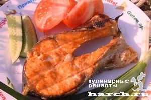 ribnie steiki gril 3 Рыбные стейки гриль