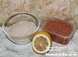 Рис лимонный