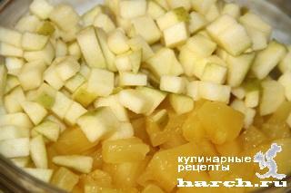 Салат из ананасов с сельдереем