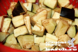 Салат из баклажанов с черносливом