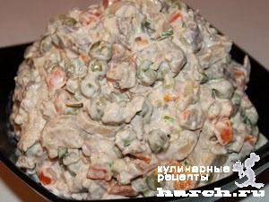 """Салат с говядиной """"Грузинский"""""""