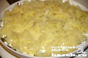 "Салат из говядины со свеклой ""Бенедикт"""