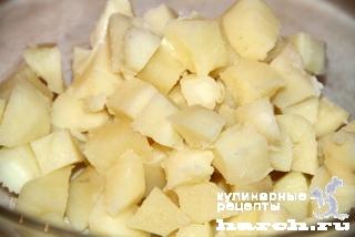 Салат из крабовых палочек с ананасом