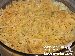 Салат из крабовых палочек с тунцом