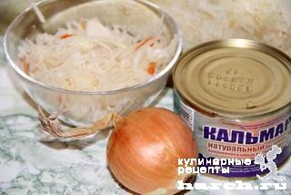 salat is kvashenoy kapusti s kalmarami po sahalinsky 5 Салат из квашеной капусты с кальмарами по сахалински