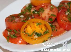 Салат из помидоров по-испански