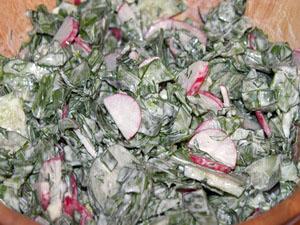 салат из щавеля рецепты фото