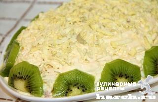 salat is svinini s kiwi madam 9 Салат из свинины с киви Мадам