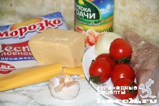 """Салат с языком и грибами """"Наваждение"""""""