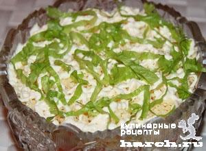 Салат из сайры консервированной и помидорами