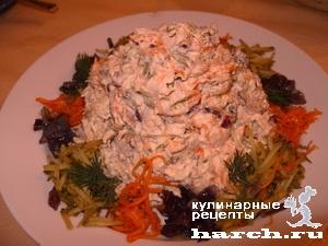 salat obzhorka 11 Мясной салат Обжорка