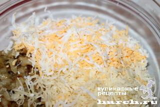 """Салат-паста с баклажанами """"Вкусная"""""""