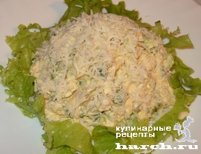 """Салат-паста с сельдью """"Хуторская"""""""